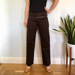 Carol Young Undesigned Pants - ❌ Brown Organic Cotton Pants🎈Petite ♻️